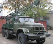 Буровая установка УГБ-50М на базе ЗИЛ-131. С хранения.