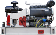 Gardner Denver XK18 с ДВС Д 144 - компрессорный агрегат